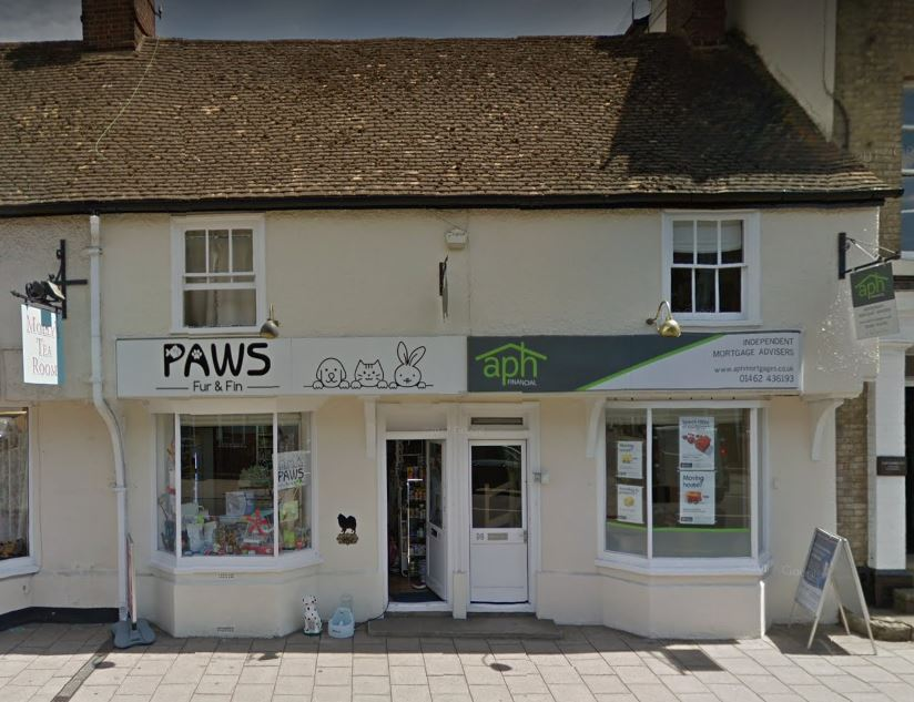 Paws Fur and Fin street view